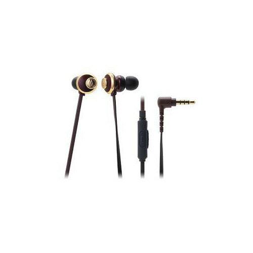 Audio-Technica オーディオテクニカ スマートフォン用インナーイヤーヘッドホン ATH-CKF77iS BW 家電