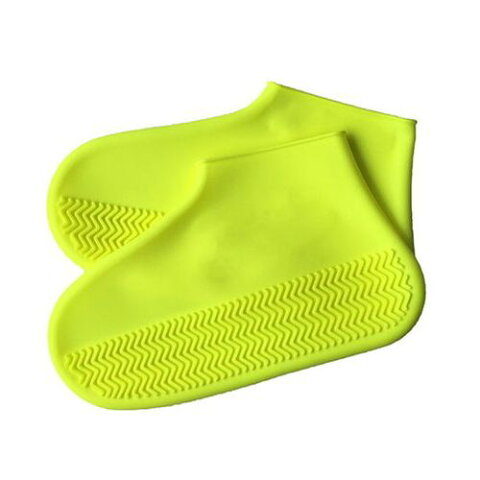 エツミ 防水シューズカバー Mサイズ イエロー V-82231 梅雨 雨 靴 カバー ケア(代引不可)