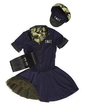 HW リバーシブル スワット&アーミー ハロウィン 仮装 変装 イベント 衣装 コスチューム パーティー 学園祭 宴会(代引不可)