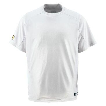 デサント(DESCENTE) ベースボールシャツ(Tネック) (野球) DB200 Sホワイト O