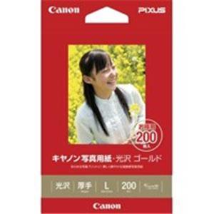 (まとめ買い)キャノン Canon 写真紙 光沢ゴールド GL-101L200 L 200枚 【×3セット】
