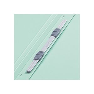 (まとめ)TANOSEEフラットファイル[厚とじW]A4タテ250枚収容緑10冊入×20パック