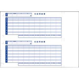 オービックビジネスコンサルタント奉行シリーズ用専用単票給与明細書6101