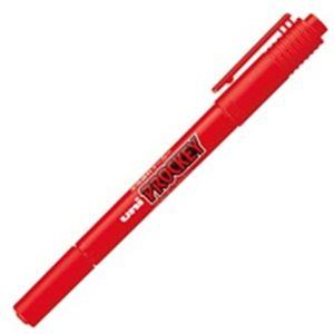 (業務用300セット)三菱鉛筆プロッキーツインPM-120T.15細字赤×300セット