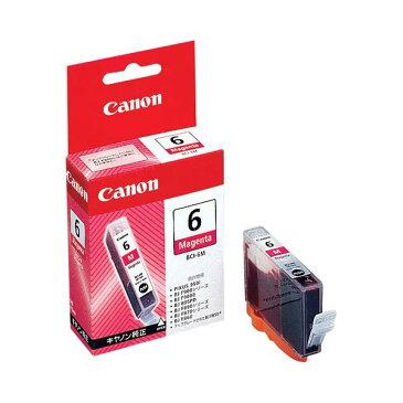 (まとめ) キャノン Canon インクタンク BCI-6M マゼンタ 4707A001 1個 【×10セット】
