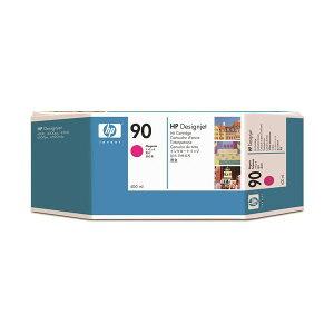 (まとめ)HP90インクカートリッジマゼンタ400ml染料系C5063A1個【×3セット】