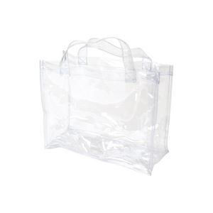 (業務用100セット) OCSコーポレーション 透明手提バッグ A4 OCS-3225135 1枚 ×100セット