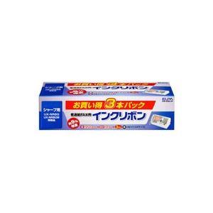 (業務用30セット) 朝日電器 ELPA 普通紙FAXリボン FIR-SR8-3P 3本 ×30セット:リコメン堂生活館