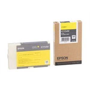 (業務用5セット)EPSON(エプソン)IJインクカートリッジICY54Mイエロー【×5セット】