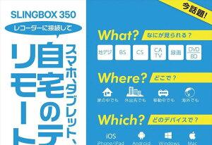 SlingMediaSLINGBOX350HDMIセットSMSBX1H121【送料無料】【smtb-f】
