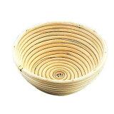 ムラノ 籐製醗酵カゴ 丸型 24cm WHT2903