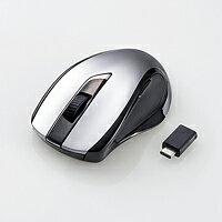 [ELECOM(エレコム)] Type-C対応 ワイヤレス BlueLED マウス M-BL26DBCBK(代引不可)【送料無料】