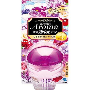 小林製薬 液体ブルーレットおくだけアロマ トイレタンク芳香洗浄剤 本体 心ときめくプリンセスアロマの香り 70ml