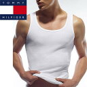TOMMY HILFIGER 【トミー フィルフィガ−】 タンクトップ (5枚パック) ホワイト / Classic-Fit Tank 5pack【送料無料】【在庫一掃】【S1】