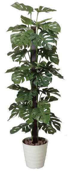アートグリーン 人工観葉植物 光触媒 光の楽園 モンステラ1.8(代引き不可):リコメン堂生活館