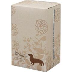 アイリスオーヤマ BOXペットシーツ(薄型/ソープフローラルの香り付き) ワイド50枚 P-ESB-50WF