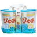 雪印 ぴゅあ 820g×2缶+ふんわりタッチのおしりふき80枚 雪印メグミルク