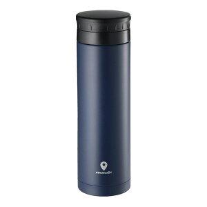 カクセー CC-504 ココカフェ 真空二重マグ 500ml ネイビー タンブラー cococafe 水筒 保温 保冷 ステンレス マグボトル 魔法瓶