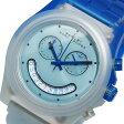 マークバイ マークジェイコブス クオーツ クロノ 腕時計 時計 MBM4577 ライトブルー【楽ギフ_包装】