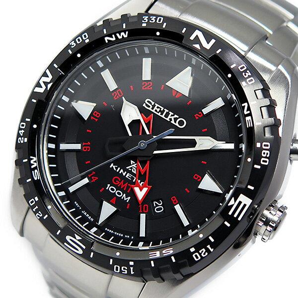 セイコー プロスペックス キネティック クオーツ 腕時計 SUN049P1 ブラック【楽ギフ_包装】【S1】:リコメン堂生活館