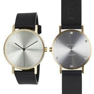 ピーオーエスPOSSTOCKwatchesStockS002Sクオーツメンズ腕時計時計STW020004【_包装】