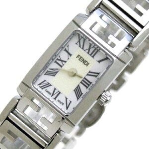フェンディFENDIフォーエバークオーツレディース腕時計F125240Jホワイト【送料無料】【_包装】