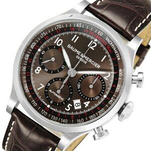 ボーム&メルシェケープランドクロノ自動巻きメンズ腕時計MOA10083【送料無料】【_包装】