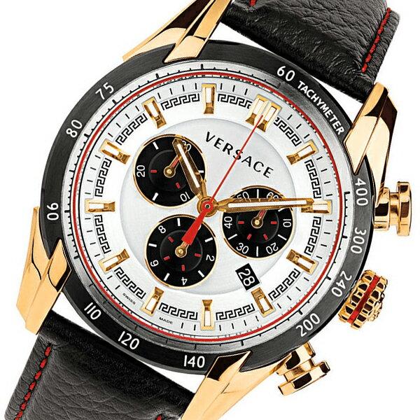 ヴェルサーチ V-レイ クロノ クオーツ メンズ 腕時計 VDB040014 シルバー【楽ギフ_包装】【S1】:リコメン堂生活館