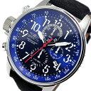 インヴィクタ INVICTA クロノ クオーツ メンズ 腕時計 時計 1513 ネイビー