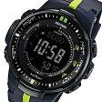 カシオ CASIO プロトレック 電波 タフソーラー メンズ 腕時計 時計 PRW-3000-2 ネイビー【楽ギフ_包装】