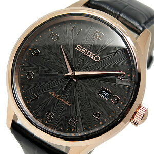 セイコーSEIKO自動巻きメンズ腕時計時計SRP706K1メタルブラック【_包装】