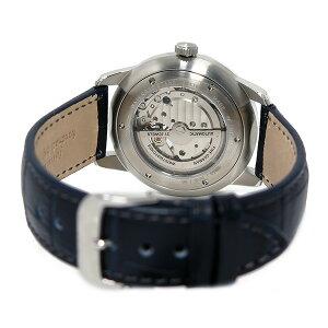 ツェッペリンZEPPELINフラットライン自動巻きメンズ腕時計時計7364-3ネイビー【_包装】