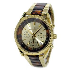 マイケルコースMICHAELKORSクオーツクロノレディース腕時計時計MK5963ゴールド【_包装】