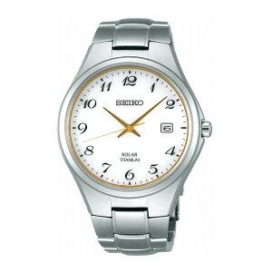 セイコーSEIKOスピリットソーラーメンズ腕時計時計SBPX075ホワイト国内正規【_包装】