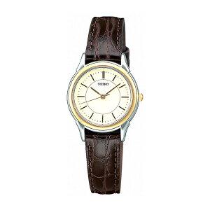 セイコースピリットクオーツレディース腕時計時計STTC006アイボリー国内正規【_包装】