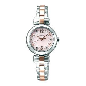 セイコーSEIKOティセソーラーレディース腕時計時計SWFH043ピンク国内正規【_包装】