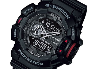 カシオCASIOGショックG-SHOCKメンズ腕時計時計GA-400-1BJF国内正規【_包装】
