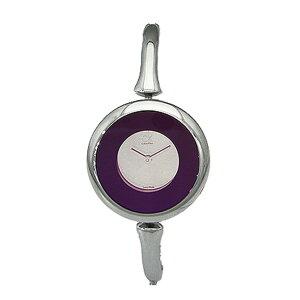 カルバンクラインシングクオーツレディース腕時計時計K1C24656パープル【_包装】