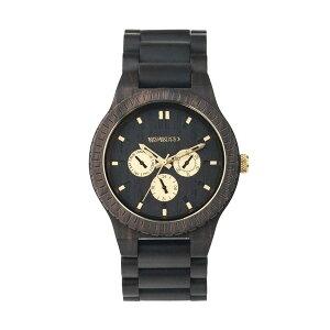 ウィーウッドWEWOOD木製メンズ腕時計時計KAPPA-BLACK-ROブラック国内正規【_包装】