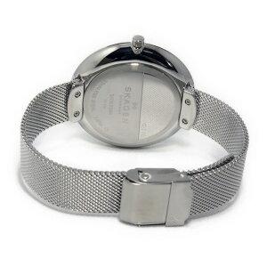 スカーゲンSKAGENクオーツレディース腕時計時計SKW2384ブラック/ネイビー【_包装】