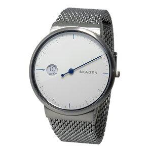 スカーゲンSKAGENクオーツメンズ腕時計時計SKW6193ホワイト【_包装】