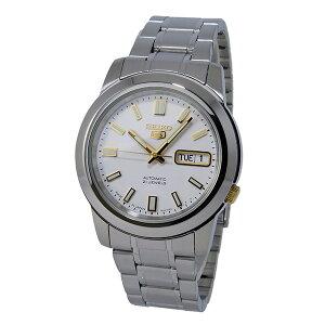 セイコーセイコーファイブSEIKO5自動巻きメンズ腕時計時計SNKK07J1ホワイト【_包装】
