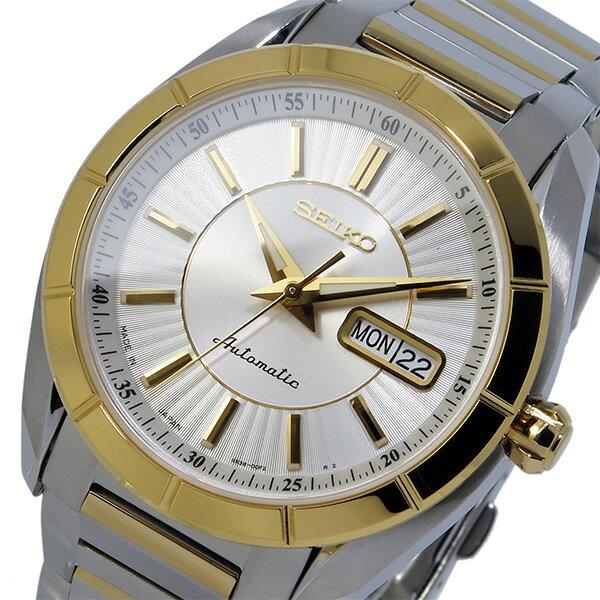 セイコー SEIKO 自動巻き メンズ 腕時計 時計 SRP176J1 シルバー【楽ギフ_包装】【S1】:リコメン堂生活館