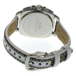 コーチCOACHクオーツレディース腕時計時計14502416シルバー【_包装】