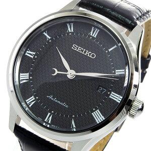 セイコーSEIKO自動巻きメンズ腕時計時計SRP769K2ブラック【_包装】