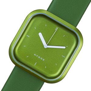 ピーオーエスPOSヒュッゲバリVariLineクオーツ腕時計時計HGE020070グリーン【_包装】