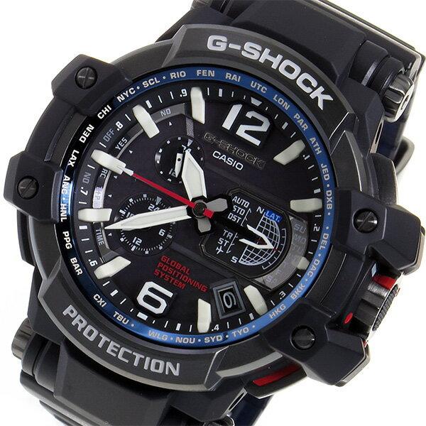 カシオ Gショック スカイコックピット メンズ 腕時計 GPW-1000-1A ブラック【楽ギフ_包装】【S1】:リコメン堂生活館