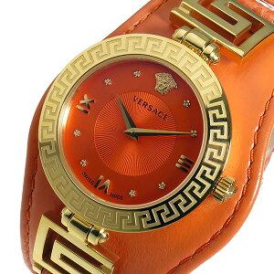 ヴェルサーチVERSACEV-SIGNATUREクオーツレディース腕時計VLA060014オレンジ【送料無料】【_包装】