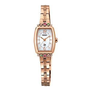 オリエントイオソーラークオーツレディース腕時計時計WI0381WDローズ国内正規【_包装】