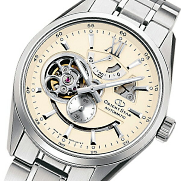 オリエント オリエントスター 自動巻き メンズ 腕時計 WZ0281DK クリーム 国内正規【楽ギフ_包装】【S1】:リコメン堂生活館
